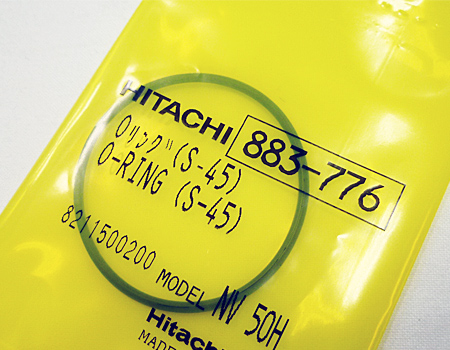 hitachi(日立)高圧ロール釘打機NV65HMJ修理部品~オーリング